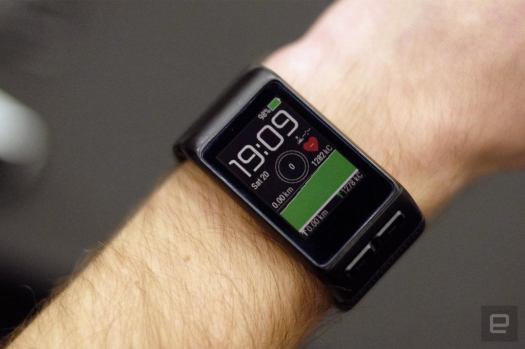 garmin vivoactive hr od wie ony smartwatch mierz cy