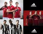 Milan, Juventus i Bayern Monachium prezentują nowe koszulki. Adidas jak zwykle dał radę